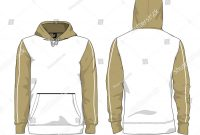 Blank Black Hoodie Template Awesome Man Urban Hoodie Stock Vectors Images Vector Art