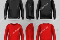 Blank Black Hoodie Template New Man Urban Hoodie Stock Vectors Images Vector Art