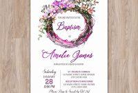 Blank Bridal Shower Invitations Templates Awesome Invitation Template Psd • Business Template Ideas