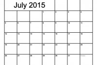 Blank Calender Template Awesome Monthly Calendar July 2015 Google Search with Images
