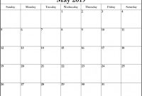 Blank Calender Template Unique May 2019 Calendar Printable Template In Pdf Word Excel