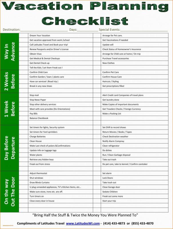 Blank Checklist Template Word New Business Trip Checklist Template Paramythia