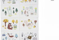 Blank Christmas Card Templates Free New Popuppeach Animals Greeting Card Unique Pop Up Card Designed Cute Card 8 Pcs