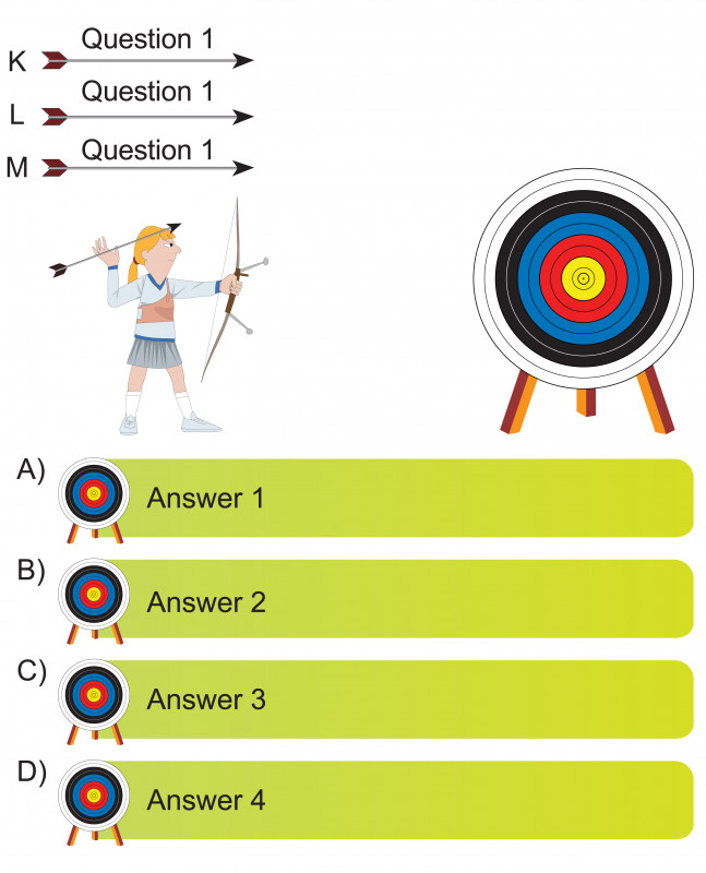 Blank Drivers License Template Awesome Archer And Arrow Question And Answer Blank Template