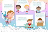 Blank Face Template Preschool New Cute Kids Education School Kids Back School Template