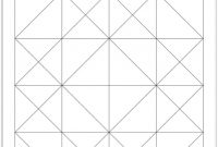 Blank Four Square Writing Template Awesome 4 Square Quilt Quilt Square Template for Kids Square