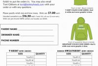 Blank Fundraiser order form Template New Blank T Shirt order form Template Word Agbu Hye Geen