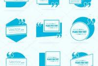 Blank HTML Templates Free Download Awesome Abstrakte Konzept Vektor Leere Rede Quadrat Zitat Textblase