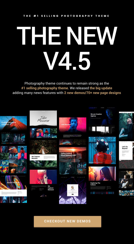 Blank HTML Templates Free Download Awesome Photography Wordpress by themegoods themeforest