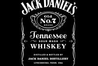 Blank Jack Daniels Label Template Unique Jack Daniels Logos