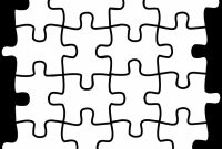 Blank Jigsaw Piece Template Awesome Puzzle Clip Art Cliparts Co