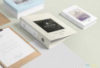 Blank Magazine Template Psd Unique Free Box File Mockup Scene Creativebooster