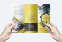 Blank Magazine Template Psd Unique Free Trifold Business Flyer Template