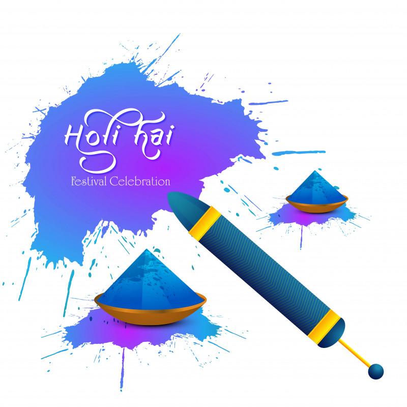 Blank Magic Card Template Unique Holi Karte Mit Lila Und Blauem Spritzer Download Kostenlos