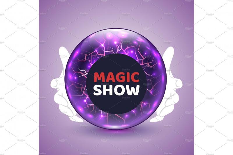 Blank Magic Card Template Unique Magic Show Poster Design Template