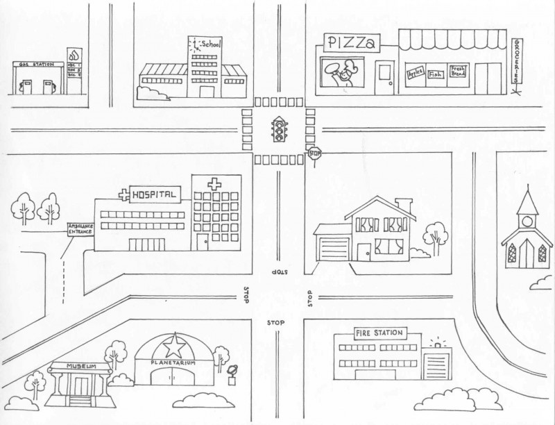 Blank Pirate Map Template Awesome Free Neighborhood Map Coloring Page Download Free Clip Art
