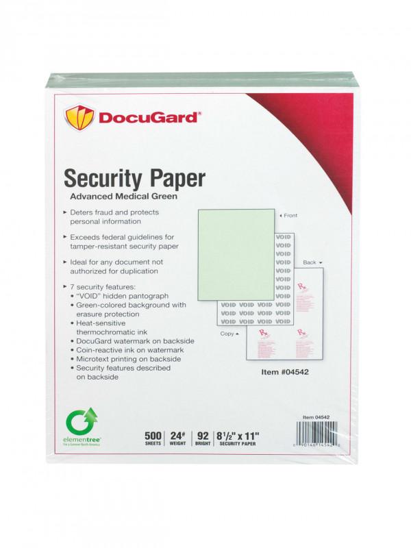 Blank Prescription Pad Template New Docugard Medical Prescription Papers Advanced Medical 7 1