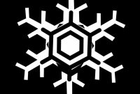 Blank Snowflake Template Awesome Free Snowflake Border Clipart Download Free Clip Art Free