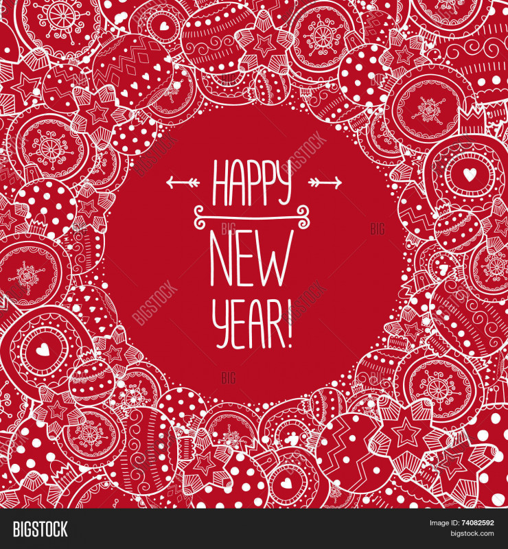 """Blank Snowflake Template Unique DŸ""""¥ Happpy New Year Border 74082592 Image Stock Photo"""