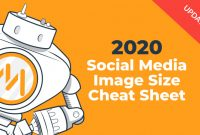 Blank social Security Card Template Unique 2020 social Media Image Dimensions Cheat Sheet