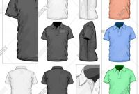 Blank T Shirt Outline Template New Polo Shirt Design Template Vector Dreamworks