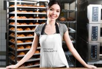 Blank Tee Shirt Template Unique 40 Free Apron Mockup White Person Wearing Waist Apron