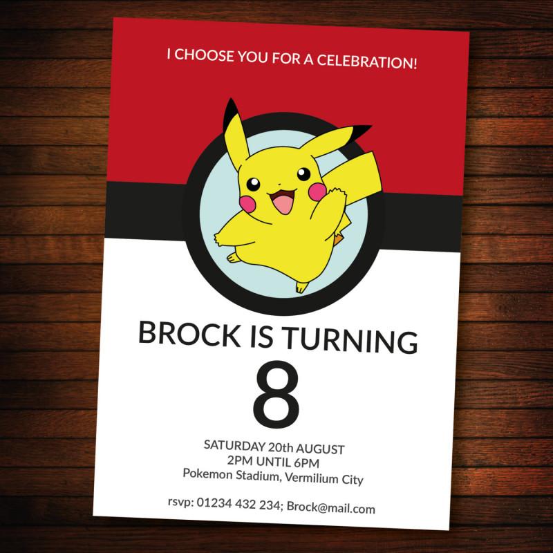 Blank Templates For Invitations Awesome Blank Pokemon Invitations Samyysandra Com