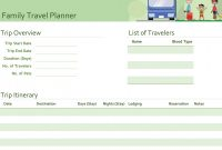 Blank Trip Itinerary Template New Free Download 50 Travel Itinerary Template Excel Photo