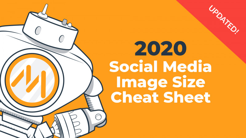 Blank Twitter Profile Template New 2020 social Media Image Dimensions Cheat Sheet