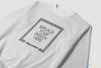 Blank V Neck T Shirt Template Unique Free Crewneck Sweatshirt Mockup