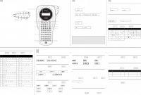 Brother Label Printer Templates New Bedienungsanleitung Brother P touch 1000 Seite 1 Von 1