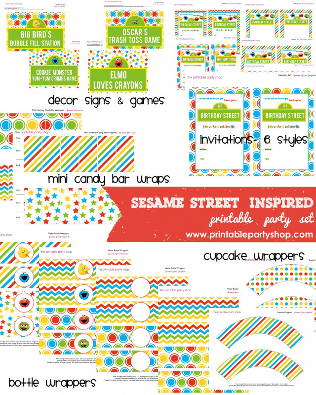 Bubble Bottle Label Template Awesome Free Sesame Street Printables Sesame Street Printable