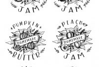 Canning Jar Labels Template New Free Printable Labels Templates Label Design Worldlabel