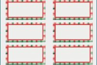 Christmas Address Labels Template Awesome Address Label Templates for Pages Template 1 Resume