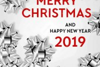 Christmas Address Labels Template Awesome Merry Christmas Poster Template Sale Discount Promo Offer