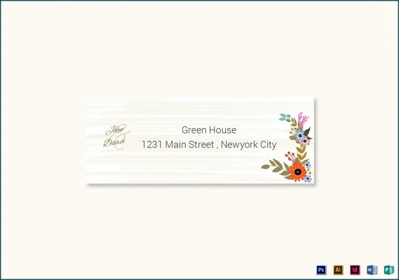 Christmas Return Address Labels Template New Address Label Templates for Wedding Invitations Template 1