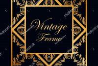 Decorative Label Templates Free Awesome Vintage ornamental Decorative Label Frame ornate Stock