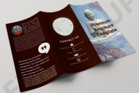 Dessert Labels Template New Buddha Tri Fold Brochure Template Free Brochure Template