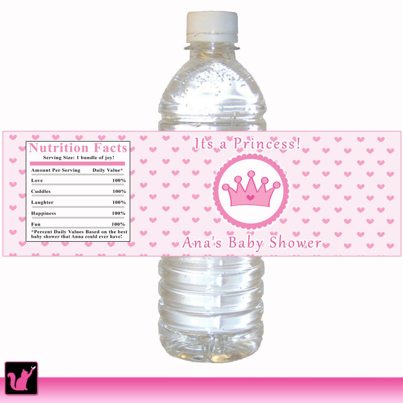 Diy Water Bottle Label Template Unique 26 Unique Free Printable Labels For Water Bottles For Baby