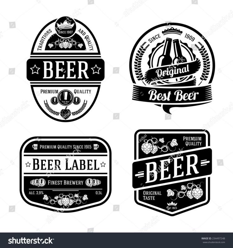 Diy Wine Label Template Unique 100 Free Beer Label Templates Free Vector Vintage