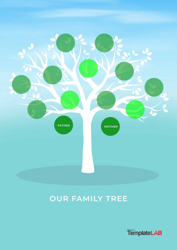 Fill In The Blank Family Tree Template Awesome 36 Free Genogram Templates Charts Diagrams Templates Bash