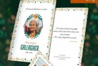 Fill In the Blank Obituary Template Awesome 37 Funeral Program Brochure Templates Psd Ai Word