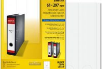 Folder Spine Labels Template New Amazon Com Sigel La450 Ring Binder Labels Opaque 2 4 X