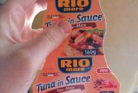 Food Product Labels Template New Tunjevina U Tex Mex sosu Rio Mare 160 G