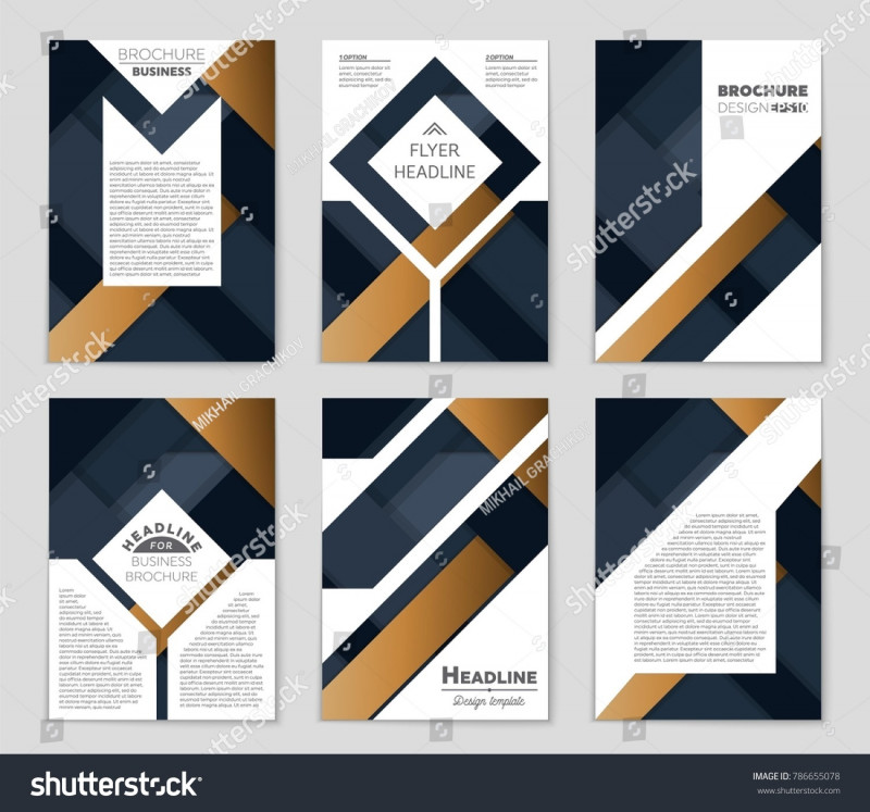 Free Blank Banner Templates New Abstract Vector Layout Background Set Art Stock Vector