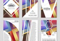 Free Blank Banner Templates Unique Abstract Vector Layout Background Set for Art Template