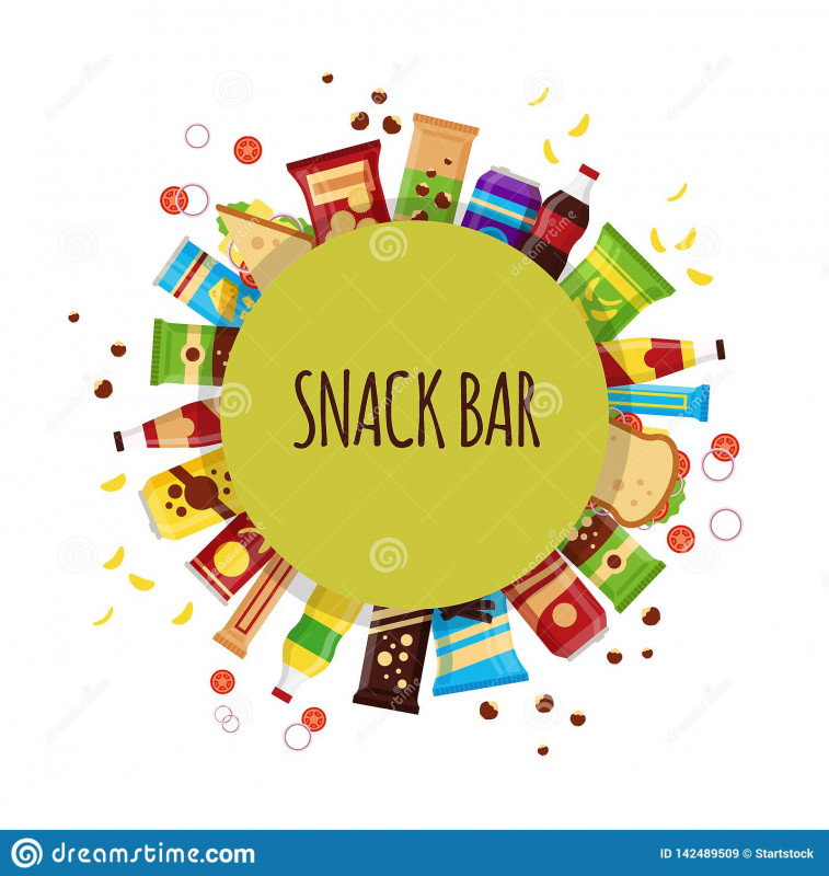 Free Blank Candy Bar Wrapper Template Unique Snack Product with Circle Fast Food Snacks Drinks Nuts