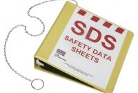Free Ghs Label Template Unique Safety Data Sheets Binder 2 Yellow Office Depot