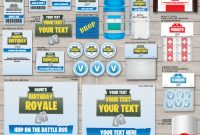 Free Hershey Kisses Labels Template Awesome Printable fortnite Birthday Party Decorations Invitations