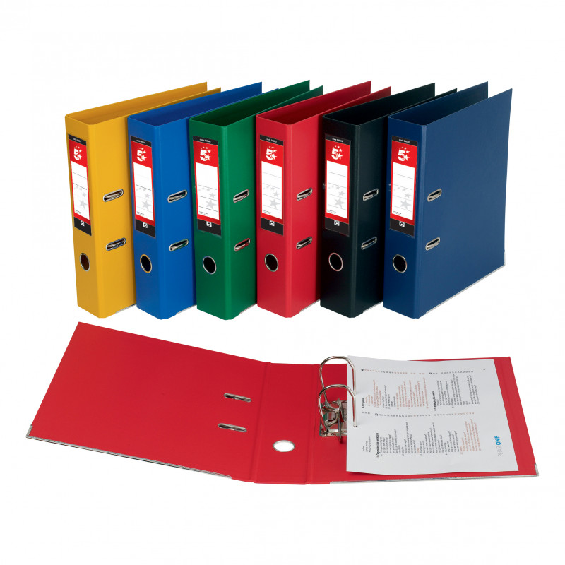 Free Lever Arch File Spine Label Template Unique 5 Star Office Lever Arch File Polypropylene Capacity 70mm A4